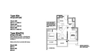 Forett-at-bukit-timah-Floor-Plan-2-bedroom-B2a-singapore