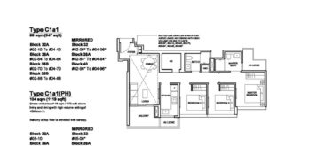 Forett-at-bukit-timah-Floor-Plan-3-bedroom-deluxe-C1a1-singapore