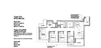 Forett-at-bukit-timah-Floor-Plan-3-bedroom-deluxe-C1c-singapore