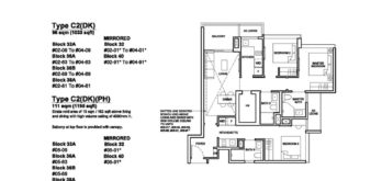 Forett-at-bukit-timah-Floor-Plan-3-bedroom-dual-key-C2DK-singapore