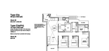 Forett-at-bukit-timah-Floor-Plan-3-bedroom-premium-C3a-singapore