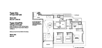Forett-at-bukit-timah-Floor-Plan-3-bedroom-premium-C3c-singapore