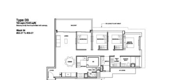 Forett-at-bukit-timah-Floor-Plan-4-bedroom-suite-D3-singapore