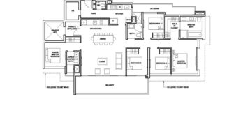 Forett-at-bukit-timah-Floor-Plan-5-bedroom-suite-Type-E-singapore