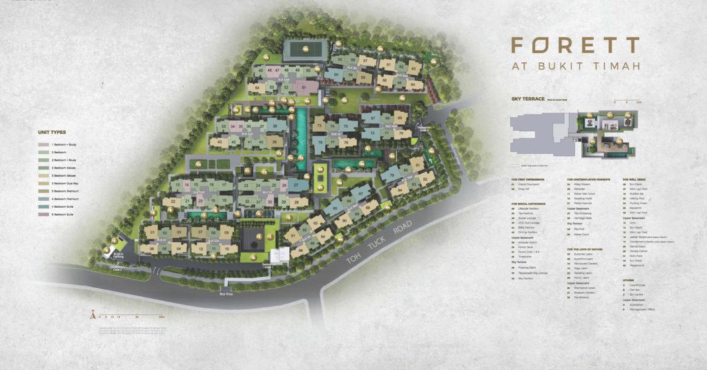 Forett-at-bukit-timah-toh-tuck-road-by-qingjian-Site-Plan